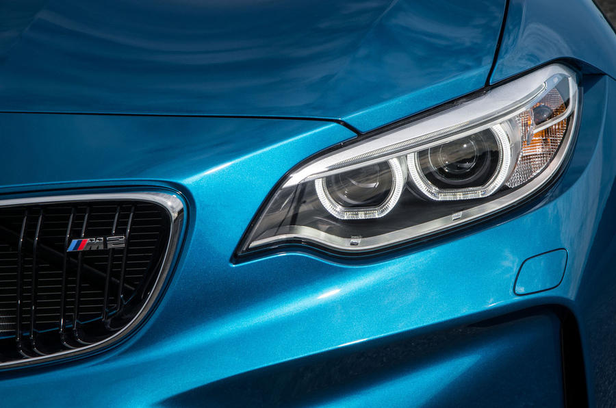 BMW M2 LED halo lights