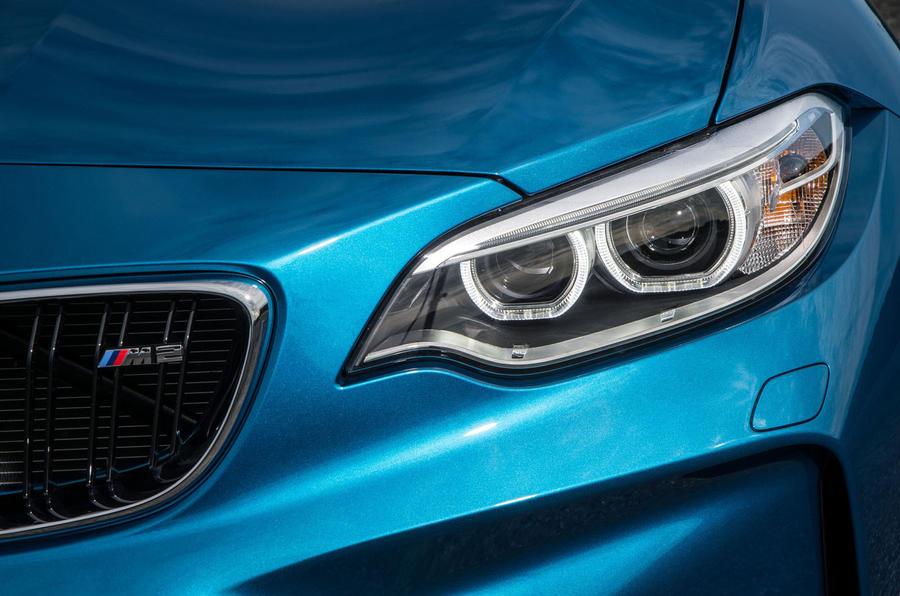 BMW M2 LED halo lights