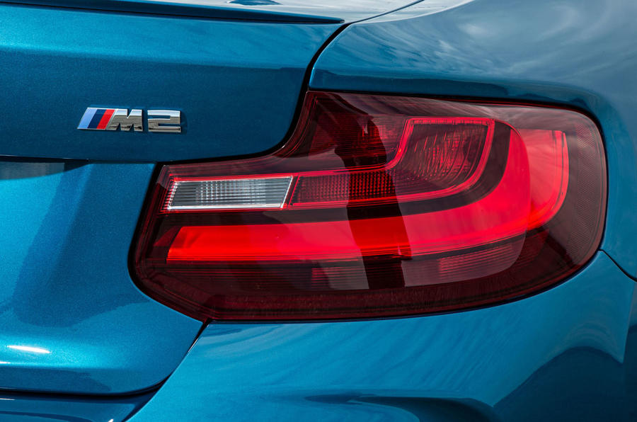 BMW M2 rear lights