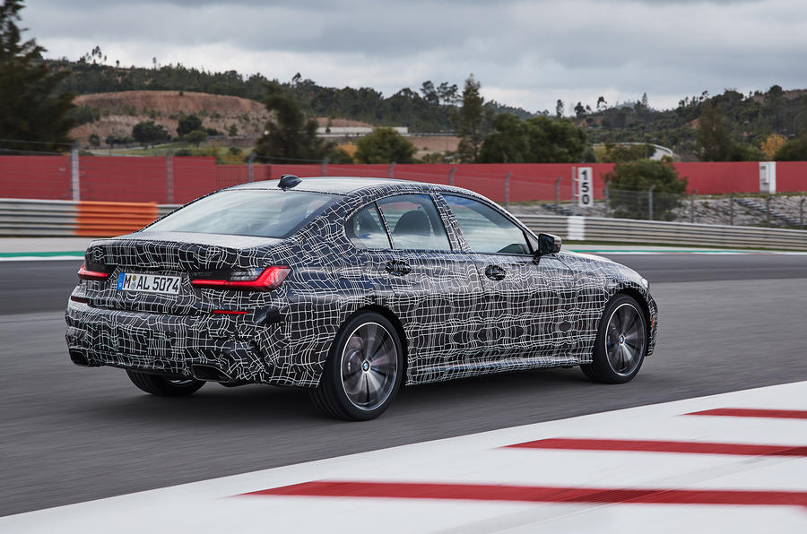 Bmw 3 Series M340i Xdrive 2019 Prototype Review Autocar
