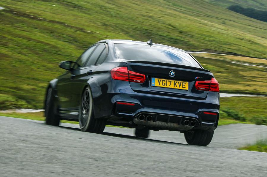 BMW M3 rear end