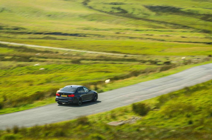 BMW M3 rear quarter