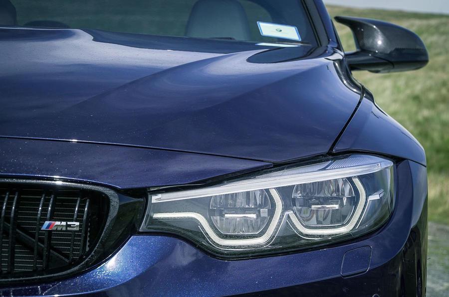 BMW M3 LED headlights