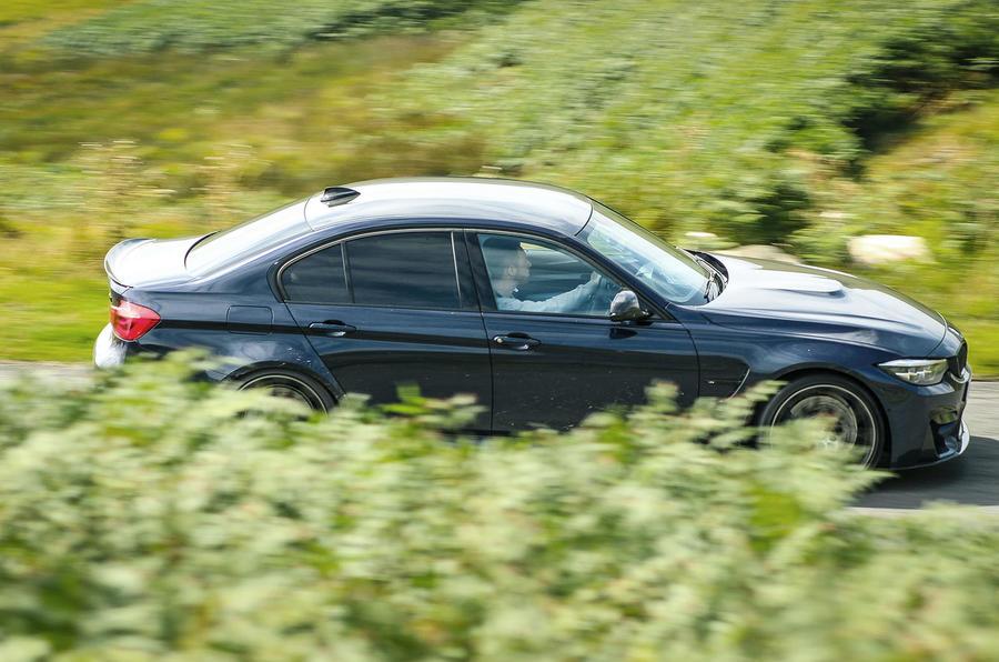 BMW M3 side profile