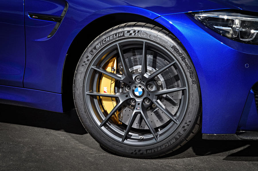 BMW M4 CS alloy wheels