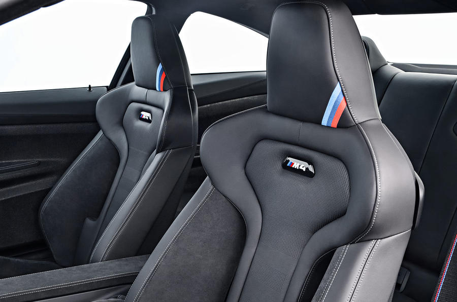 BMW M4 CS bucket seats