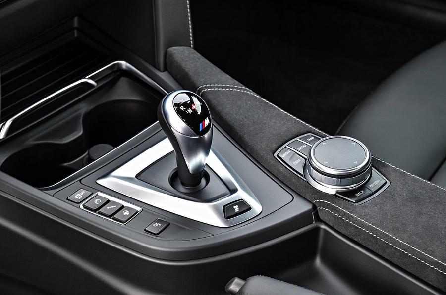 BMW M4 CS DCT gearbox