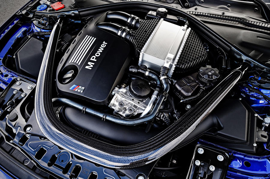 BMW M4 CS engine bay