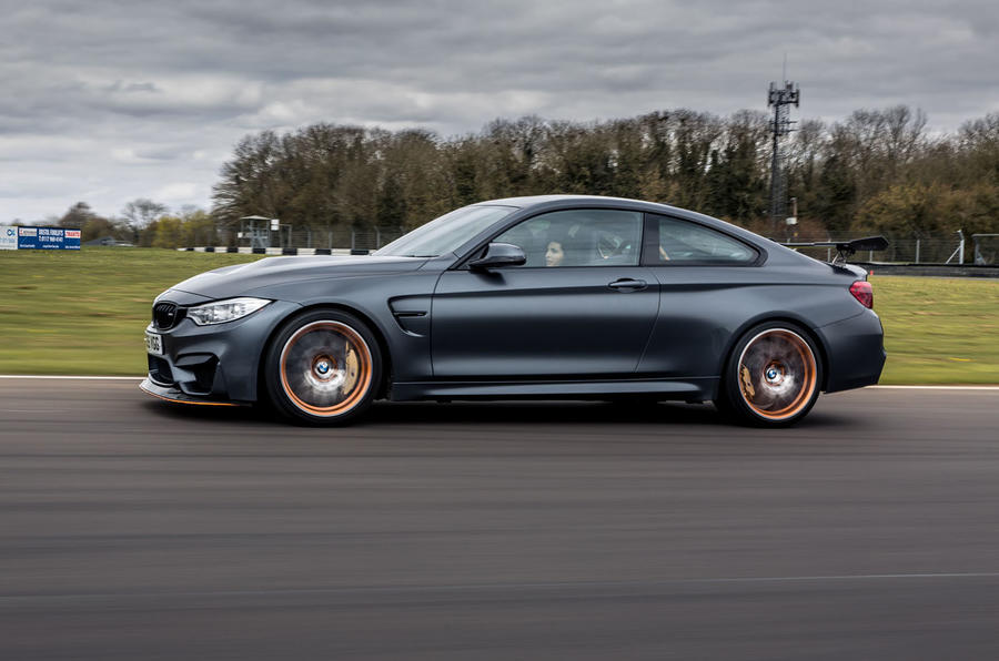 BMW M4 GTS side profile
