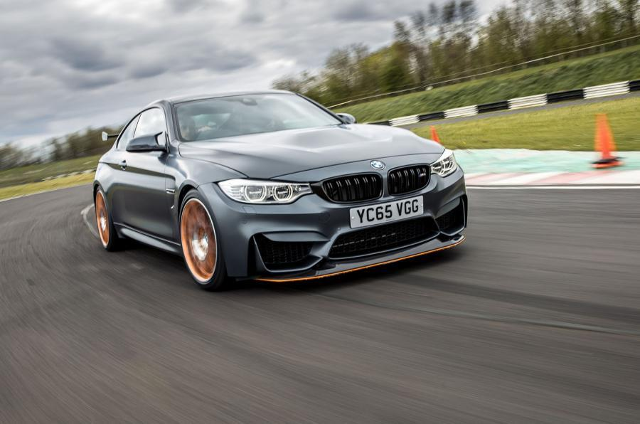 BMW M4 GTS on the road