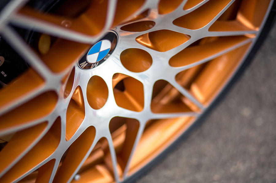 Bronze BMW M4 GTS alloys