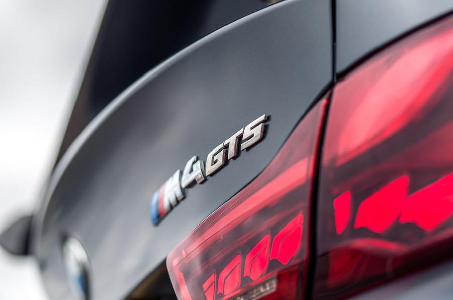 BMW M4 GTS badging