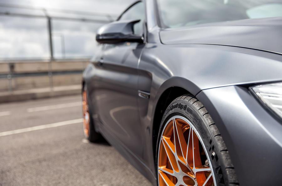 BMW M4 GTS body shape
