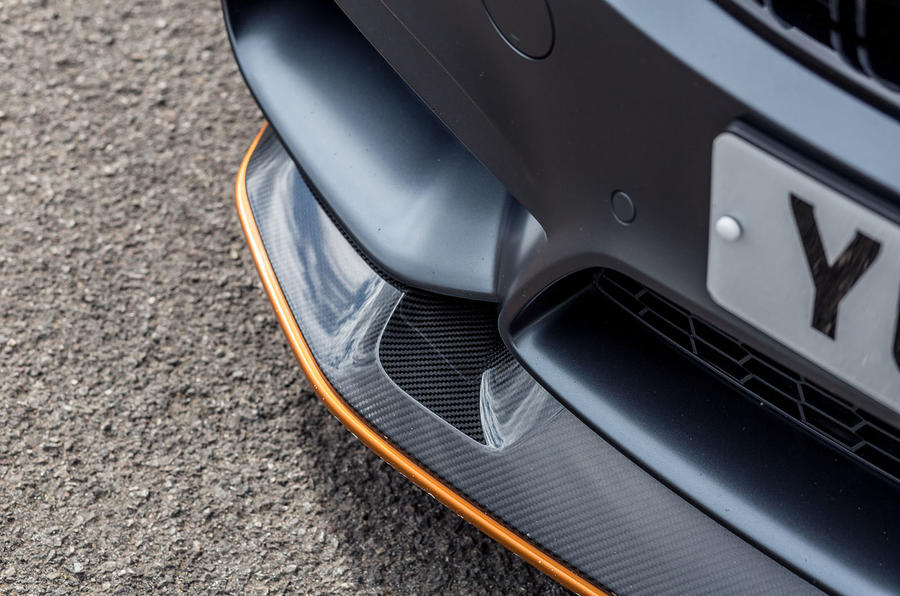 BMW M4 GTS front diffuser