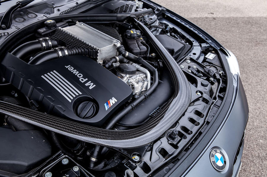 3.0-litre BMW M4 GTS engine