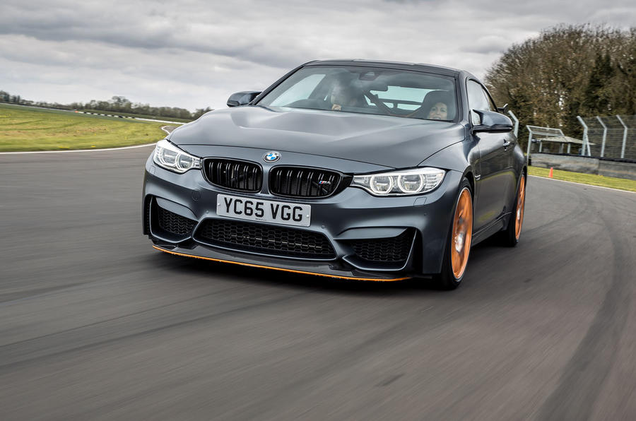 BMW M4 GTS front end