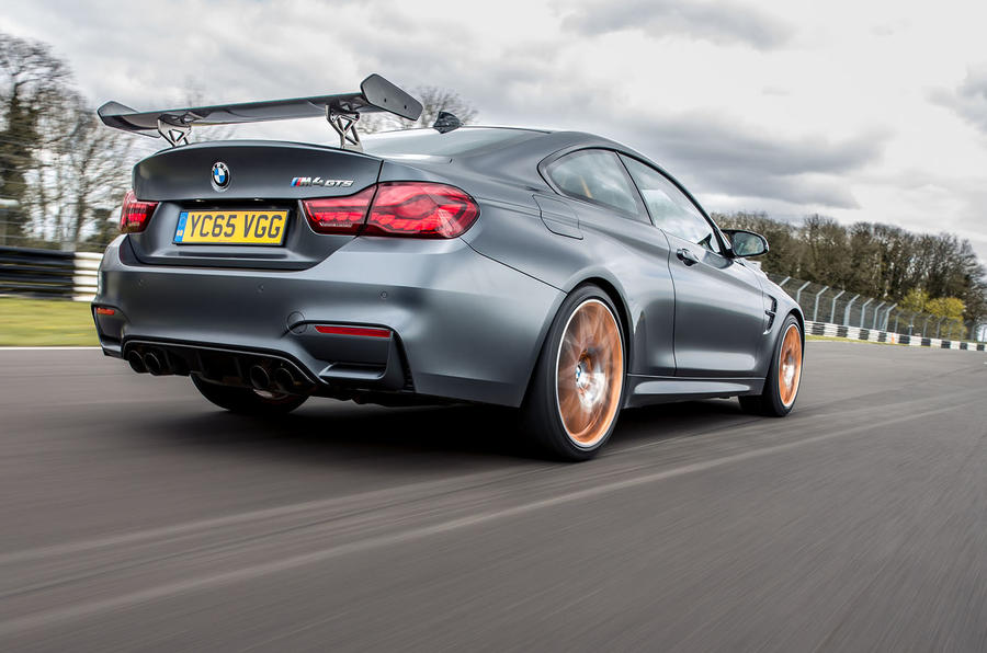 BMW M4 GTS rear quarter