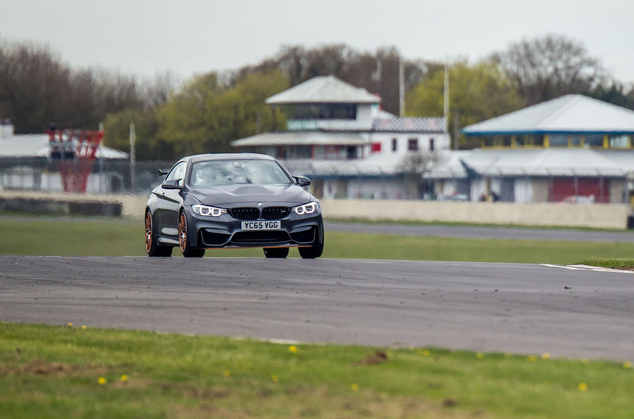 BMW M4 GTS on track