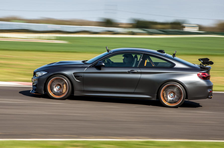 BMW M4 GTS side profile