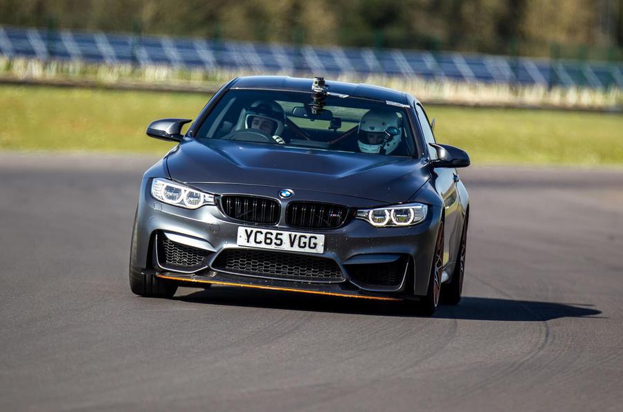 BMW M4 GTS cornering