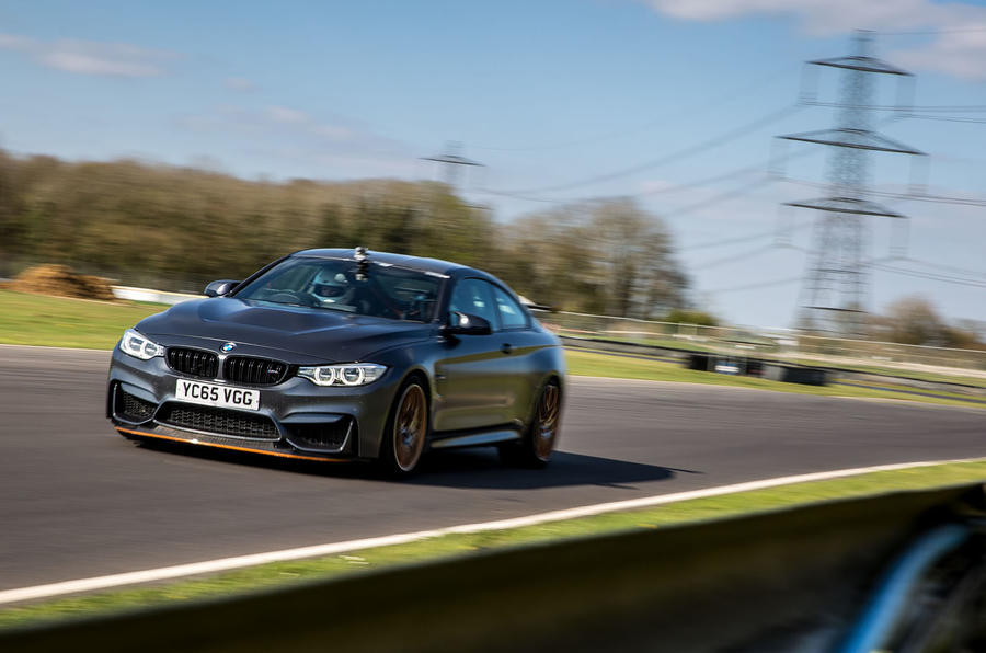 Thrashing the BMW M4 GTS