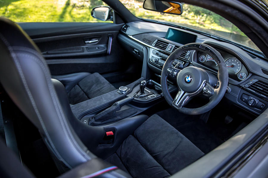 BMW M4 GTS interior
