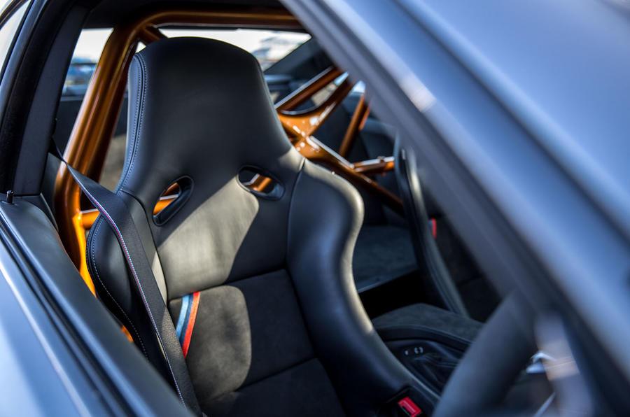 BMW M4 GTS sports seats