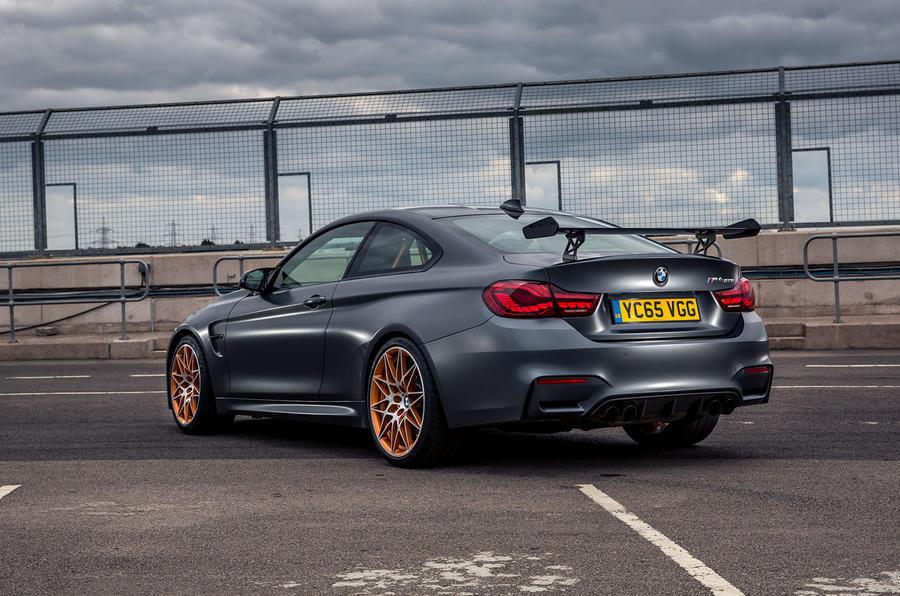 BMW M4 GTS rear corner