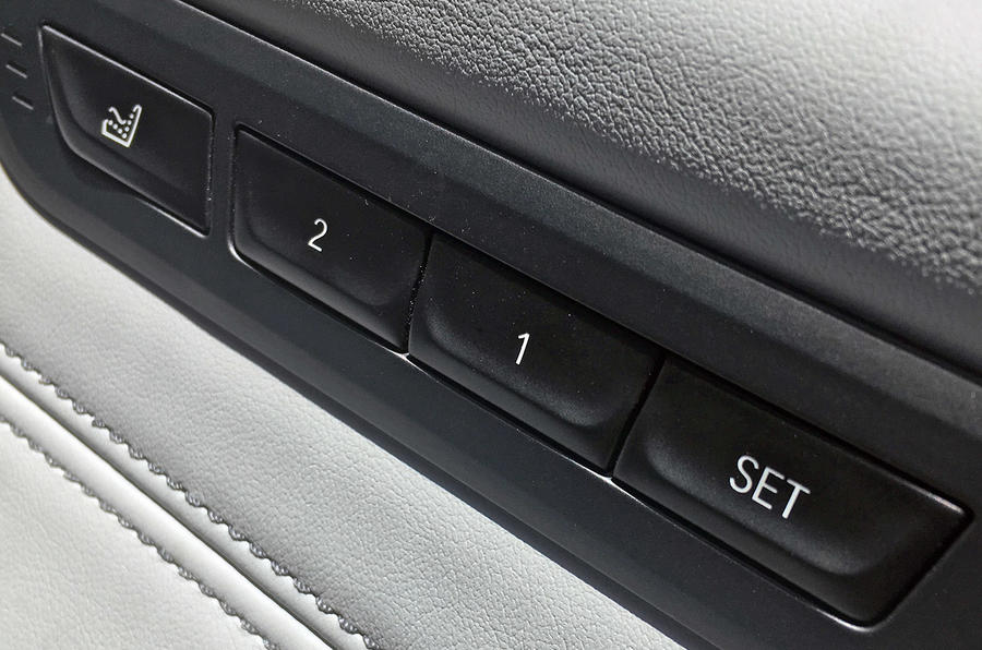 BMW M5 2018 long-term review seat memory functions