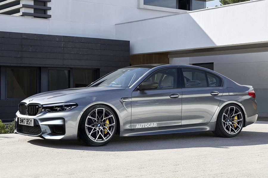 new bmw m5 to get 600bhp and four wheel drive autocar. Black Bedroom Furniture Sets. Home Design Ideas