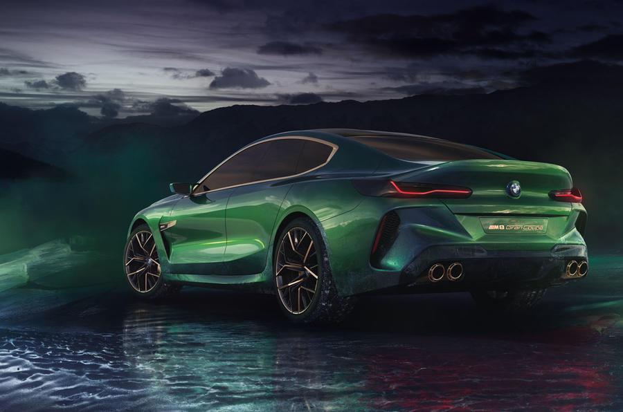Bmw Concept M8 Gran Coupe Previews New Db11 Rival Autocar