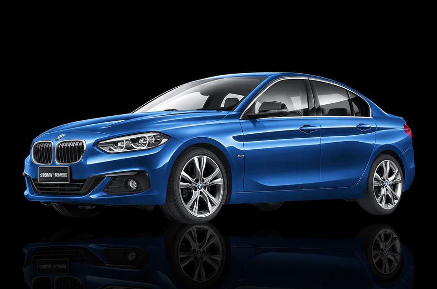 BMW 1-Series sedan – автомобиль не для всех