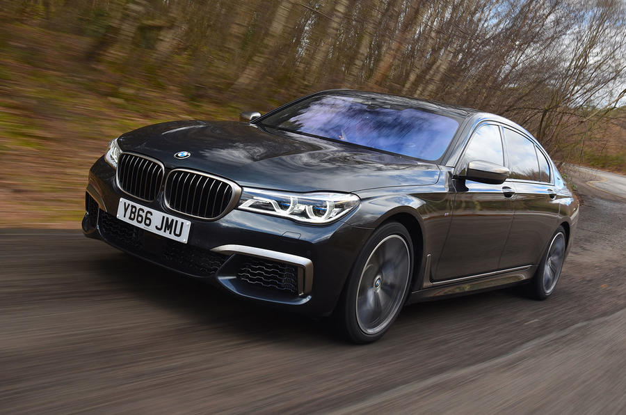 BMW 7 Series M760Li XDrive 2017 UK Review Autocar