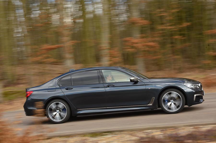 BMW M760Li xDrive side profile