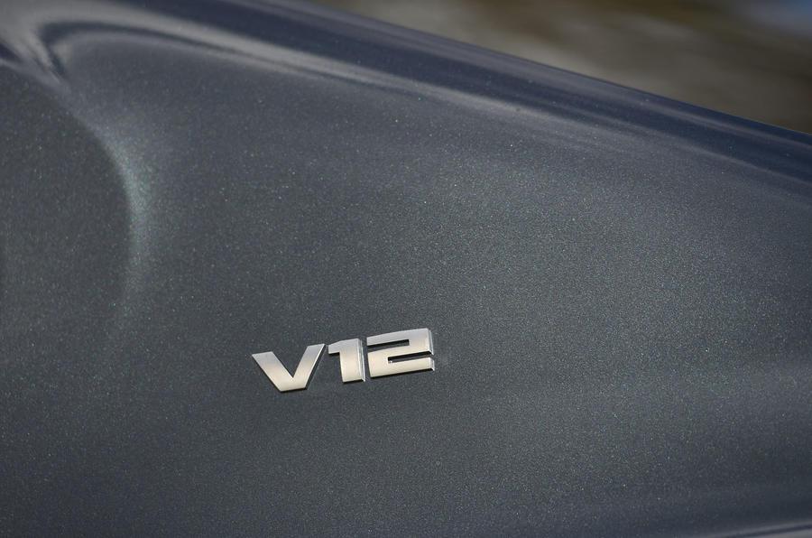 BMW M760Li xDrive V12 badging