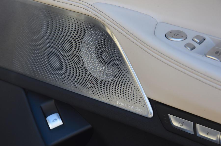 BMW M760Li xDrive door card