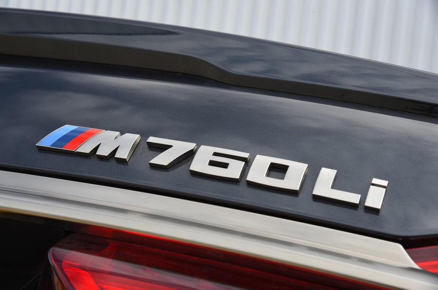 BMW M760Li xDrive badging
