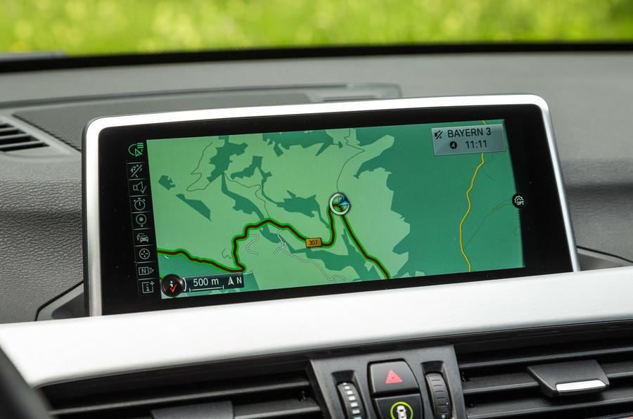 BMW X1 iDrive infotainment