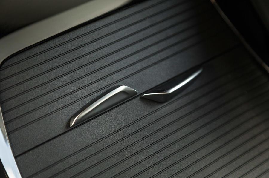 BMW X1 storage space