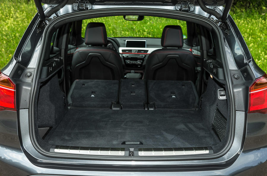 BMW X1 extended boot space