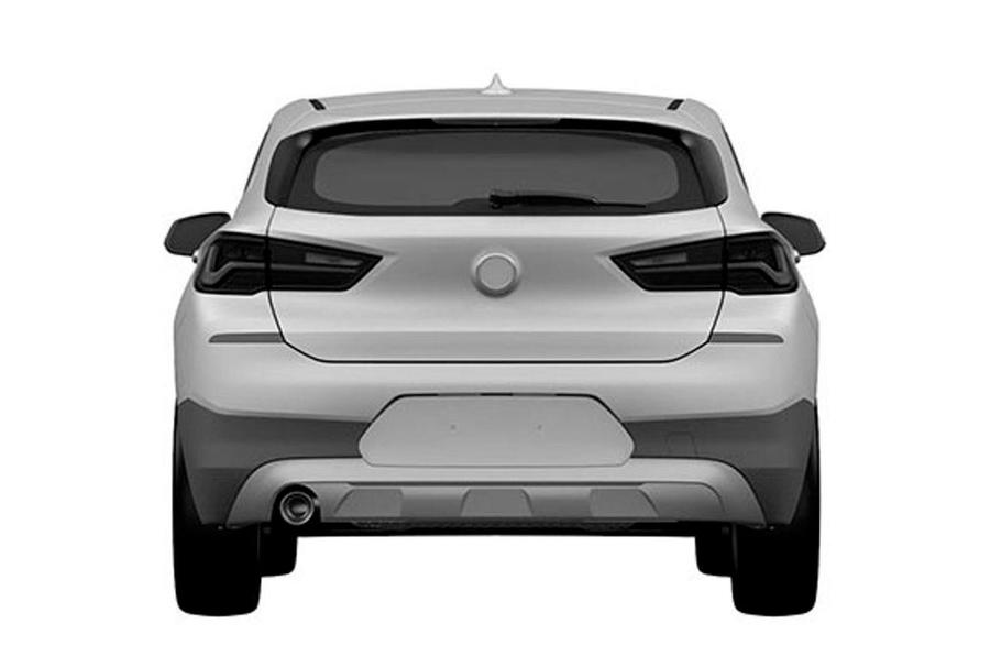 BMW X2 patents show it will retain concept looks for production