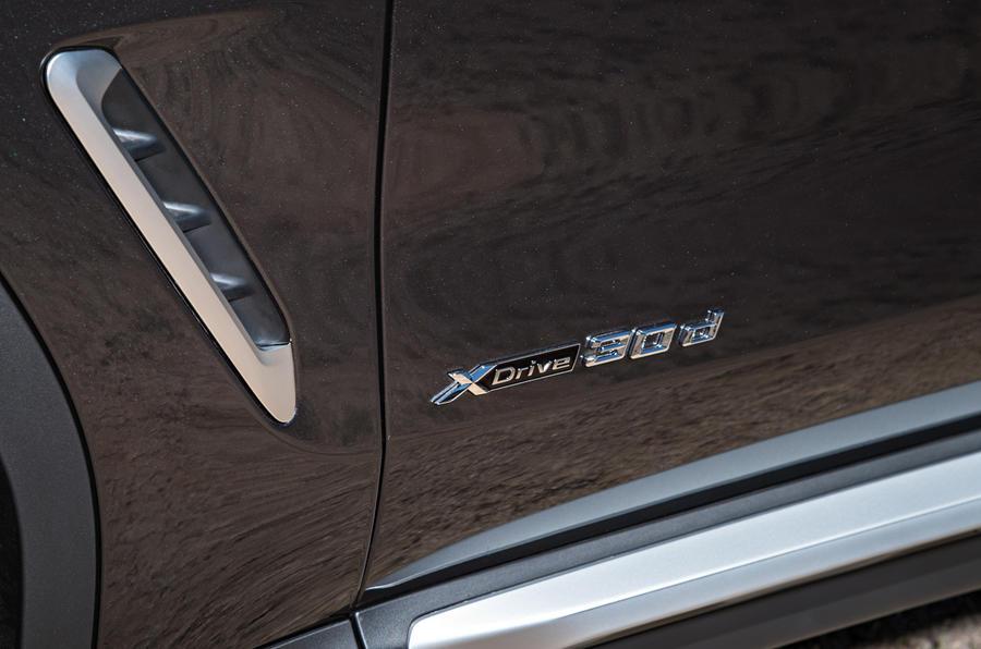 BMW X3 30dxDrive badging