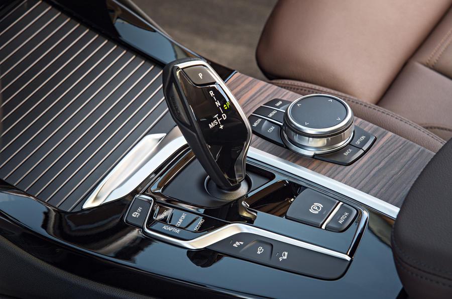 BMW X3 automatic gearbox