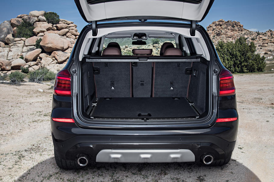 BMW X3 boot space