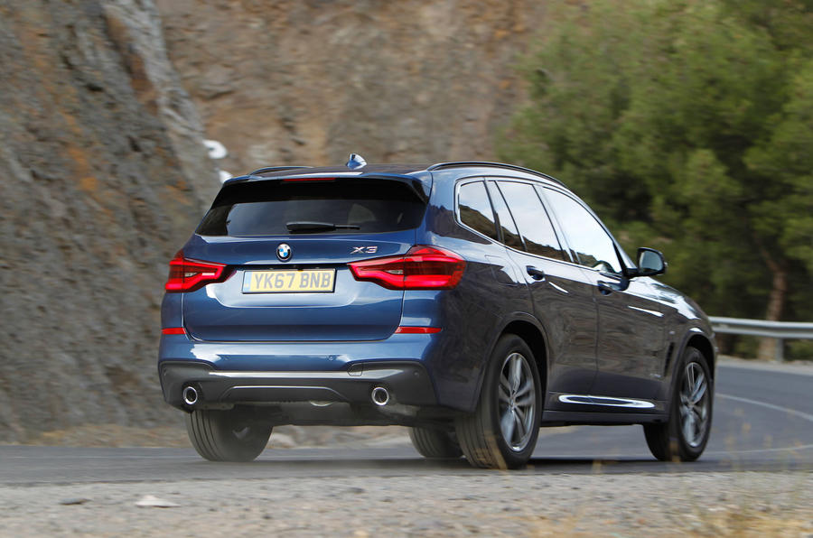 BMW X3 xDrive20d rear