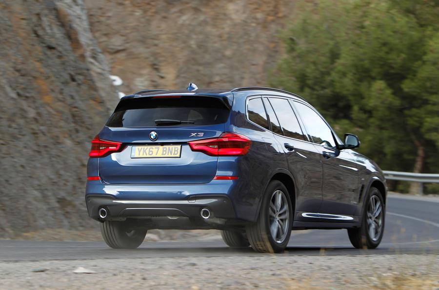 BMW X3 xDrive20d rear