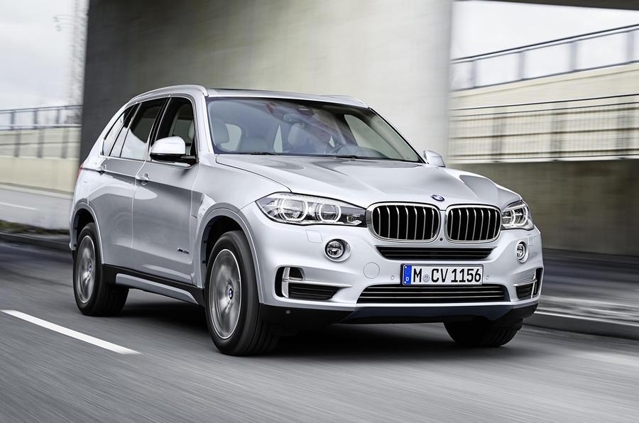 2305kg BMW X5 xDrive40e
