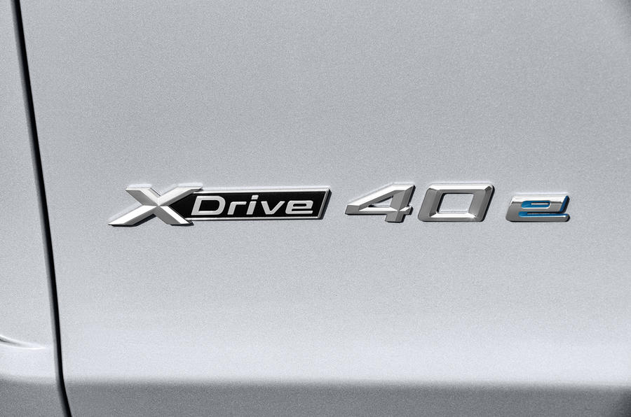 BMW X5 xDrive40e badging