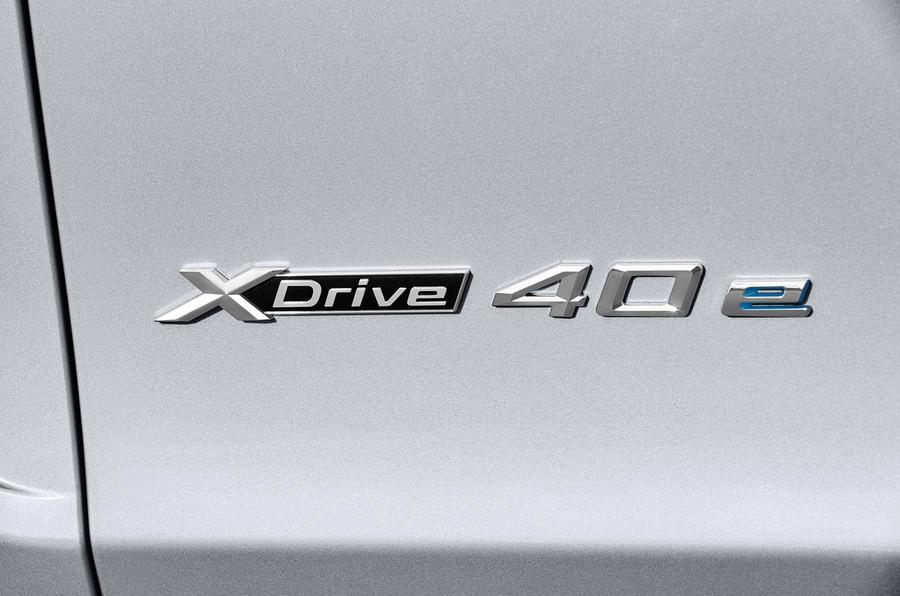 BMW X5 xDrive40e badging