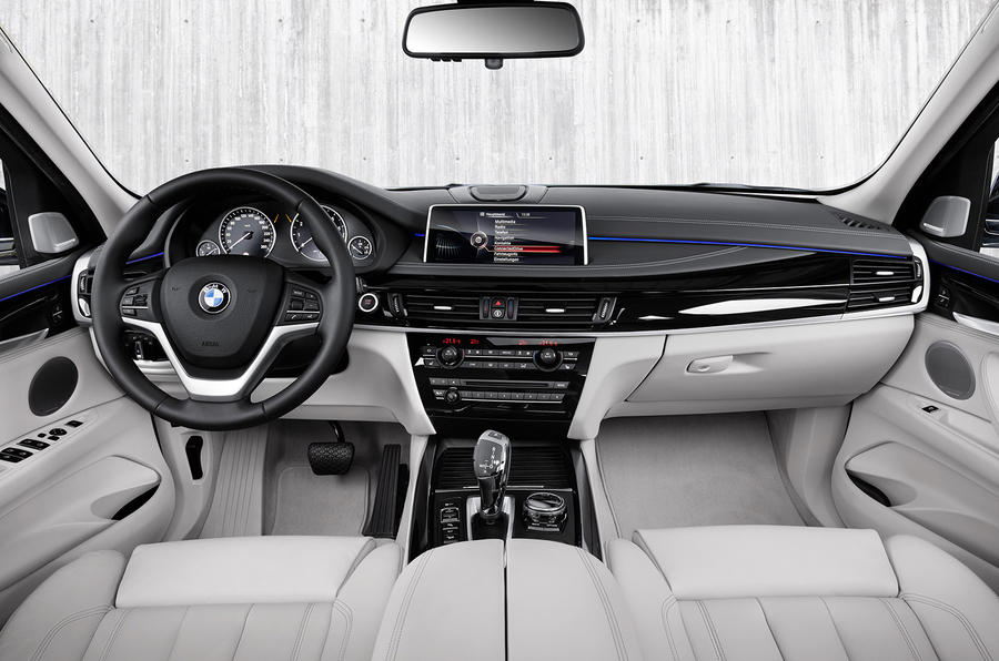 BMW X5 dashboard